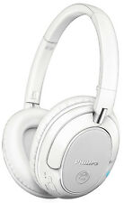 Philips SHB7250 Wireless Bluetooth NFC  Headphones White