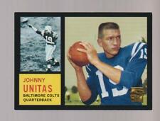 2000 Topps 1962 Johnny Unitas Commemorative Set card, Baltimore Colts