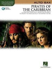 PIrates of the Caribbean for Alto Sax Book & Online Audio Instrumental Play-Alo