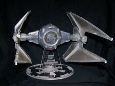 Acrylic display stand for vintage Star Wars Tie Interceptor Kenner