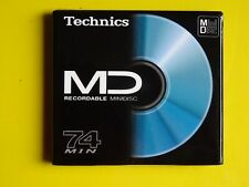 1 Brand New TECHNICS MD74 Minidisc - Factory sealed