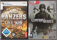 Company of Heroes Steelbook + Codename Panzers Cold War PC Spiele