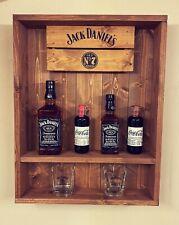 More details for jack daniels wall shelf ,pub bar man cave shed gift whisky bottle display