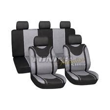 Housse de siège sièges Référence NOIR-GRIS Kit pour plusieurs véhicules