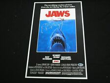 Richard Dreyfuss Signed Jaws 11x17 Movie Poster Autograph Beckett Bas Coa A