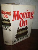 Moving On Larry Mcmurtry Novel 1st Edition First Printing Early Fiction