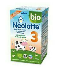 Unifarm Bio Neolatte 3 Latte per la crescita in polvere dopo il 12° mese 700 g