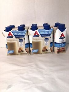 10 Atkins Gluten Free Protein-Rich Shake, Café Caramel, Keto Friendly Expired