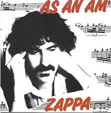 Frank Zappa/as an AL * NEW CD * NUOVO *