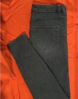 H&M  LOGG ... Skinny  Denim  Jeans  Pants ... Gray/Black ... Size  10