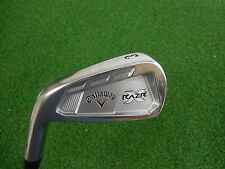 NEW LH CALLAWAY RAZR X FORGED SINGLE 3 IRON PROJECT X FLIGHTED 5.5 STEEL RAZRX