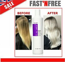Purple Shampoo Fanola No Yellow Toner Suitable for Grey Bleached Hair Care 350ml