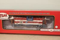 "BN BNSF Burlington Northern Atlas ""Desert Storm"" Caboose #12618 RTR in HO Scale"