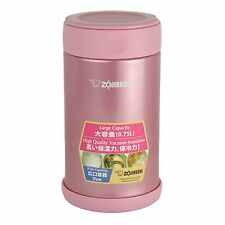 Zojirushi 象印保溫悶燒杯 SW-FCE75-PS Stainless Steel Food Jar 750ml - Shiny Pink