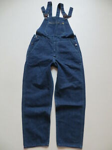 Levi's Latzhose Latz Jeans Hose Gr. M anno 1973 Vintage Overall MADE IN FRANCE !