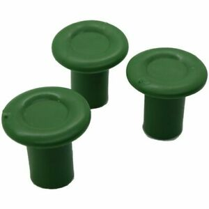 Garden Cane Toppers Green Cane Tops Pack of 20pcs