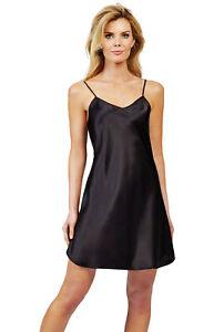 Shadowline Satin Essentials Chemise Slip Nightgown