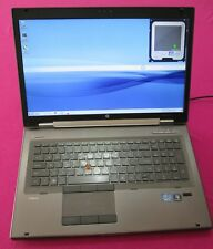 HP 8760w elitebook laptop I7-2670qm 2.2-3.1Ghz 12GB ram NEW 500GB hdd K2100m W7