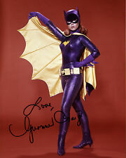 REPRINT - YVONNE CRAIG 2 Batgirl Batman TV Series autograph signed photo