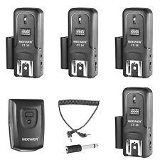 Neewer Wireless Trigger Radio 16 Canali per Flash 1 Trasmettitore + 4 Ricevitori
