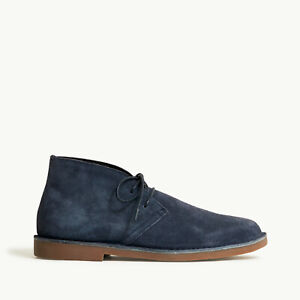 J Crew Suede Desert Boots Chukka Evening Storm New with Box