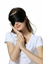 Luxury Sleep Eye Mask Pure Mulberry Silk, Black colour