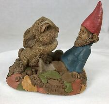 Tom Clark & Tim Wolfe Cotton Tales Gnome & Bunny #6308 Edition #70 Cairn 4""