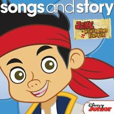 New: JAKE AND THE NEVER LAND PIRATES : Songs and Story CD (Disney)