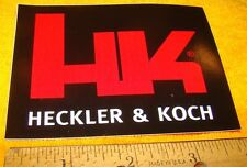 H&K Heckler & Koch Firearms  Decal Sticker