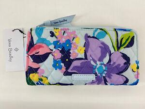 Vera Bradley Accordion Wallet Zip Around Clutch Marian Floral $65 NWT
