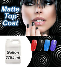 Nagellack Matte Überlack Top Coat Finish Matt Look Effektlack Gallone 3785ml