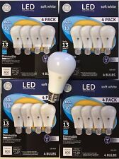 16 PACK GE LED 60W = 10W Soft White DIMMABLE Bulb