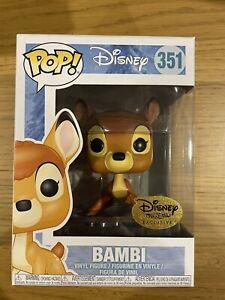 Disney Treasures Exclusive Bambi  Funko Pop Vinyl