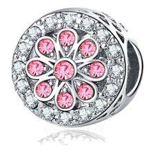 Charms Pendant CZ Wholesale Beads European Crystal Fit European Bracelet