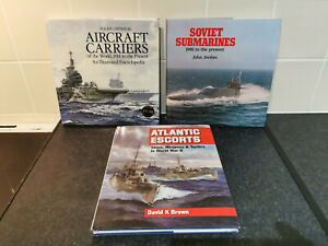 Selection of Military War Ship Books