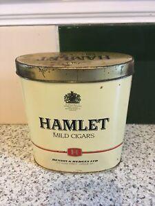 Vintage Hamlet Cigars Tin (Empty)