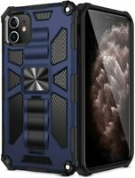 For iPhone 11 Pro Max Rugged Kickstand Case Tough Dual Layer Shockproof Cover