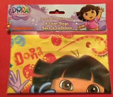 *Dora the Explorer Goody Favor Loot Bags Birthday Party Supply 8-Pack