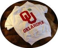 Oklahoma Sooners OU Cotton Dog Tee Shirt Size Choice Unisex