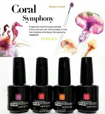 Jessica GELeration - Coral Symphony Collection - All 4 Colors 874, 875, 876, 878