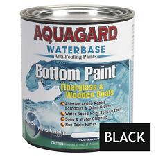 Aquagard Waterbase BOAT MARINE ANTI FOULING BOTTOM PAINT 1 Quart Black