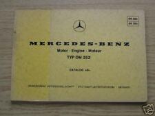 Teilekatalog Mercedes OM 352