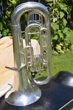 YAMAHA SILVER YEP 321 EUPHONIUM,4 VALVES,READY TO PLAY/FLICORNO BARITONO/EUFONIO