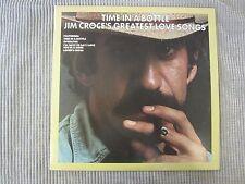 JIM CROCE ~ TIME IN A BOTTLE  JIM CROCE'S GREATEST LOVE SONGS  VINYL RECORD LP