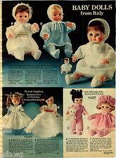 1976 PAPER AD Doll Italy Stellina Patty Michele Bathable Powder Puff Luv'N Stuff