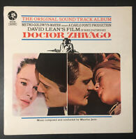 "DOCTOR ZHIVAGO 12"" Vinyl LP Maurice Jarre - 1966 MFP 1200 EX/EX"