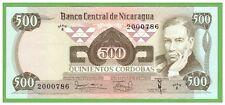NICARAGUA - 500 CORDOBAS - 1979 - P-138  - UNC - REAL FOTO