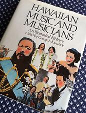 HAWAIIAN MUSIC & MUSICIANS George Kanahele Hula Ukulele Hawaii Book