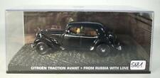 James Bond 007 Collection 1/43 Citroen Traction Avant From Russia in Box #5681