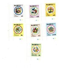 VINTAGE CLASSICS - MALDIVES SC# 1688-95 Flowers Set of 8 Stamps - MNH